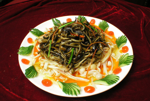 脆香芹菜鳝鱼丝的家常做法
