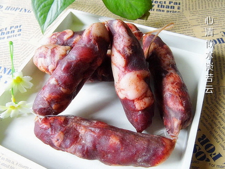 川味麻辣香肠的家常做法