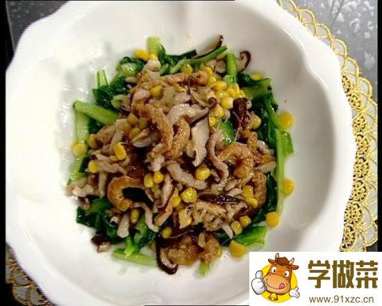 香菇白菜卷的家常做法