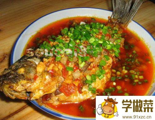 豆瓣鲜鱼的家常做法