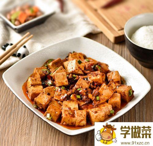 麻婆牛肉豆腐家常做法