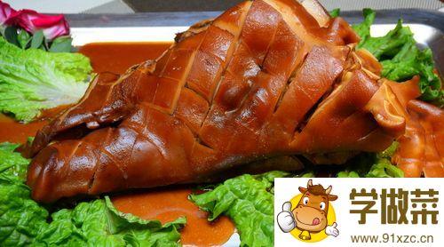 成都腊猪头的家常做法