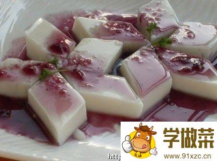 杏仁豆腐的家常做法