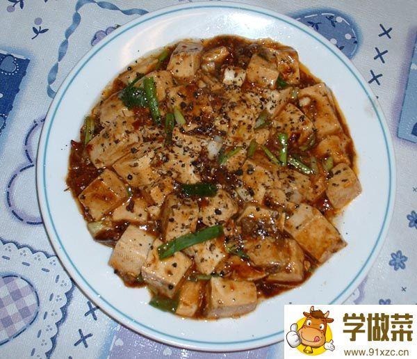 (图)麻婆豆腐的家常做法