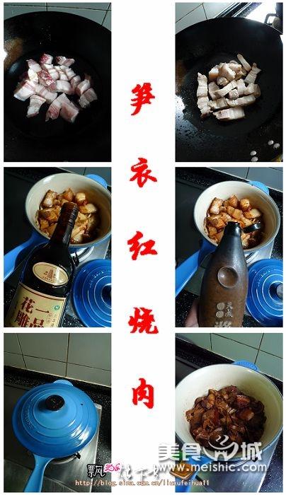 笋衣红烧肉步骤5-10