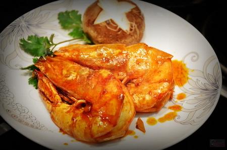 鲁菜经典油焖大虾的