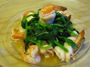 落叶琵琶虾的家常做法