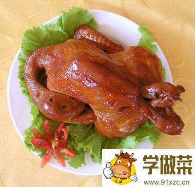 福山烧小鸡的家常做法