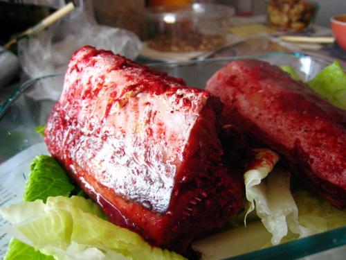 红糟蒸海鳗的家常做法