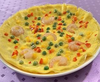 虾仁烘蛋怎么做?虾仁烘蛋的家常做法