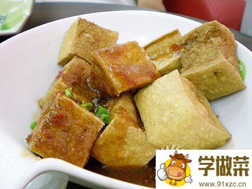 炸豆腐芝士的家常做法