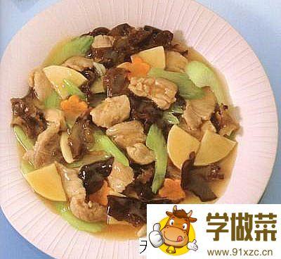 榨菜炒鸡柳的家常做法