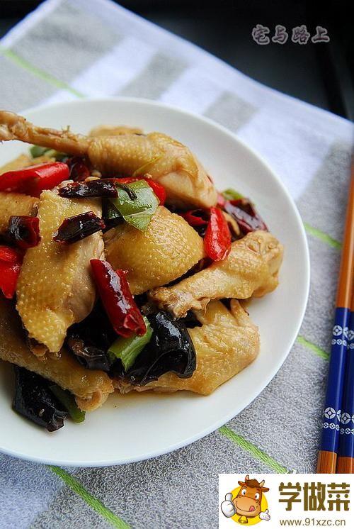 酸香麻辣东安鸡的家常做法