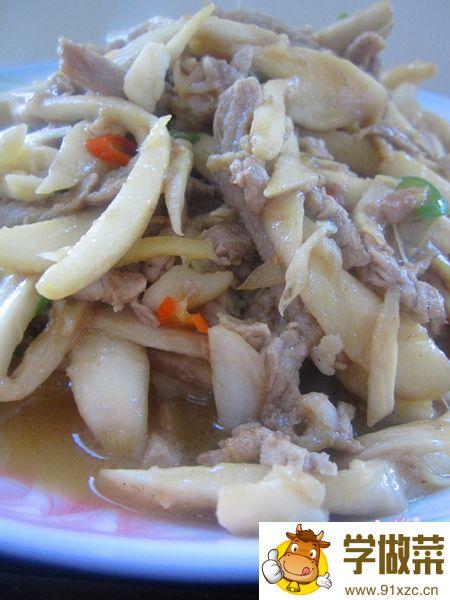 鲜香小炒里脊鸡枞菌的家常做法