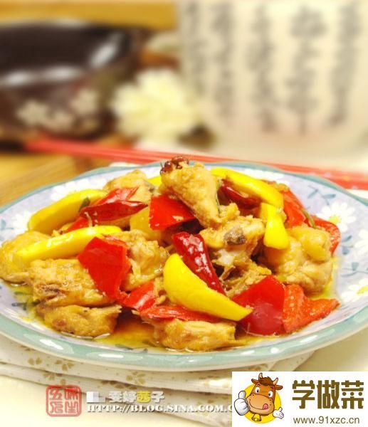 湖南名肴麻辣子鸡的家常做法