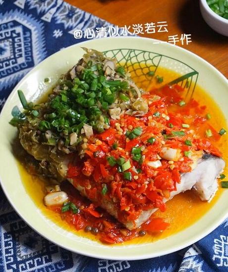 双味剁椒鱼腩的家常做法