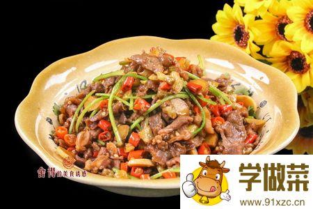 湘菜小炒黑山羊 羊肉不能和什么一起吃的家常做法