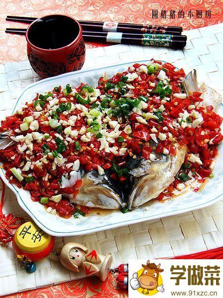 湖南剁椒鱼头的家常做法