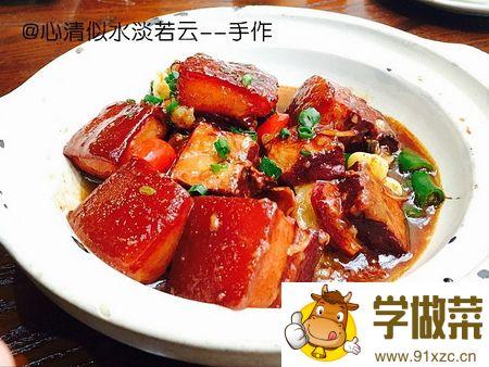 (图)毛氏红烧肉的家常做法