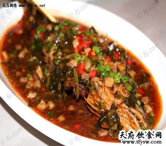 雪菜黄鱼的家常做法