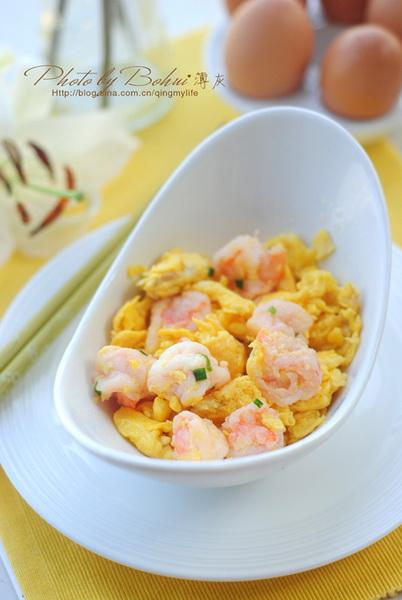 经典粤菜:滑蛋虾仁的家常做法
