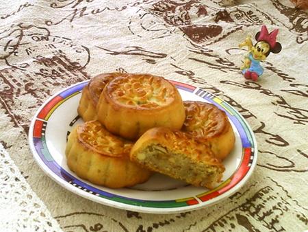广式玉米芝麻月饼的家常做法