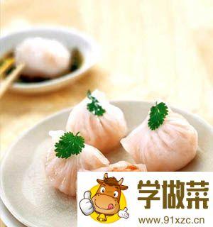 广东虾饺的家常做法