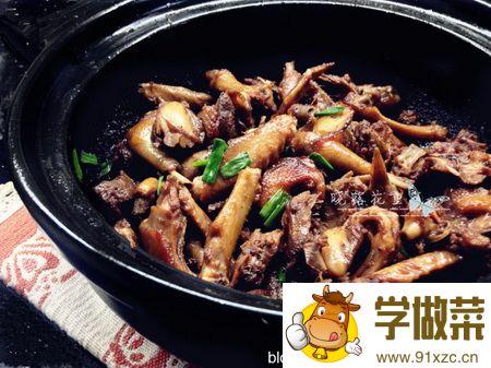 砂锅啫乳鸽的家常做法