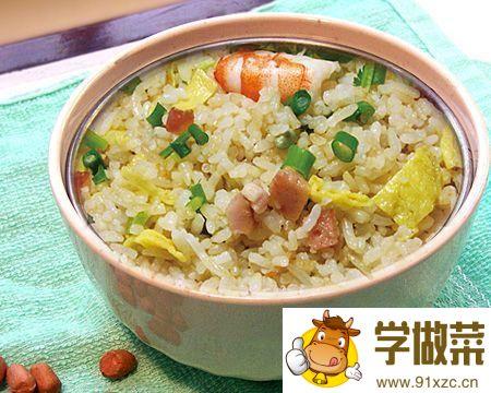 广州炒饭的家常做法