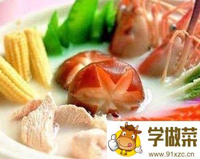 虾胶瓤鱼肚的家常做法