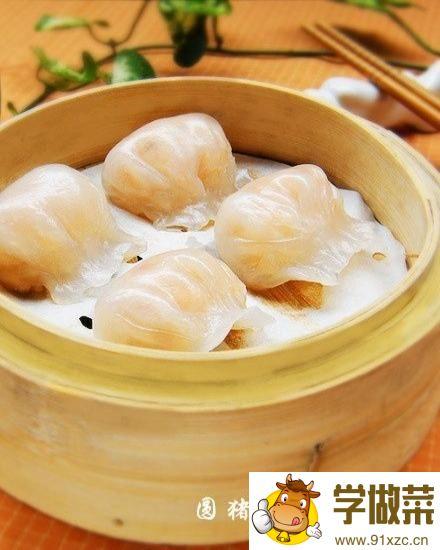 虾仁蒸饺的家常做法