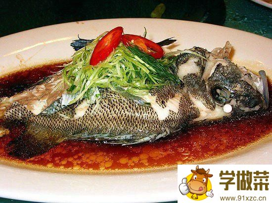 清蒸石斑鱼的家常做法