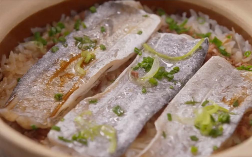 砂锅带鱼饭的做法 鲜美无刺,润肤补血!