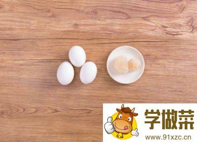 冰糖炖鸡蛋的做法_图解冰糖炖鸡蛋怎么做好吃