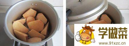 葡萄干红薯饼的做法_图解好吃的葡萄干红薯饼怎么做