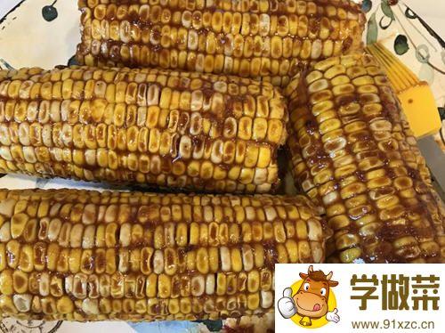 烤箱沙茶烤玉米_图解用烤箱如何做沙茶烤玉米的做法