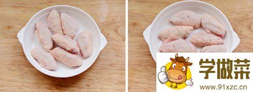 烤箱脆皮鸡翅的做法_图解用烤箱如何做脆皮鸡翅