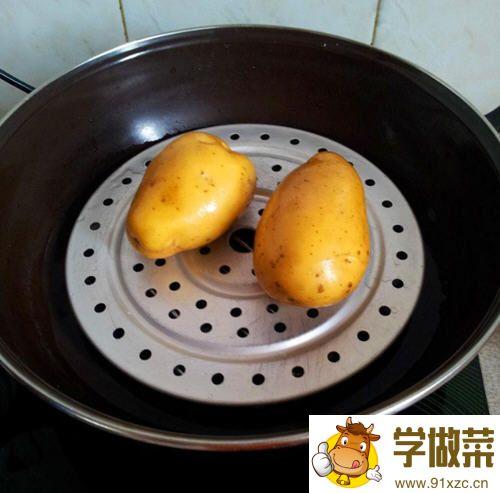 土豆焗鸡蛋的做法_图解好吃的土豆焗鸡蛋怎么做