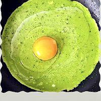 【黄瓜鸡蛋早餐饼】给你一天的好心情缴费低脂润肠低蛋白饮食的做法图解5