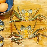 【生酮饮食·真酮】中秋快乐蟹黄鸡蛋羹(减肥食谱,一起瘦)的做法图解1