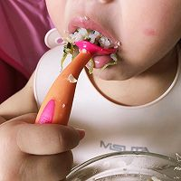 #冰箱剩余食材大改造#宝宝健康饮食之香菇腐竹鸡肉小丸子的做法图解12