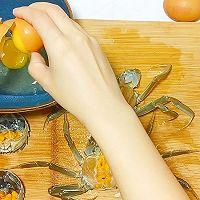 【生酮饮食·真酮】中秋快乐蟹黄鸡蛋羹(减肥食谱,一起瘦)的做法图解3