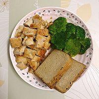 【黑椒蒜香鸡胸肉】今天又是健康低卡饮食的一天!的做法图解8