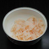 酥炸虾肉豆腐丸子的做法图解2