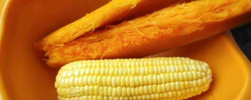 南瓜和玉米能一起吃吗