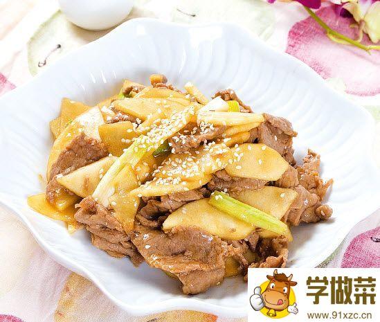 苹果炒牛肉片怎么做?苹果炒牛肉片的家常做法