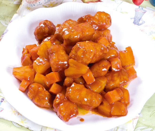 菠萝咕噜肉怎么做?菠萝咕噜肉的家常做法