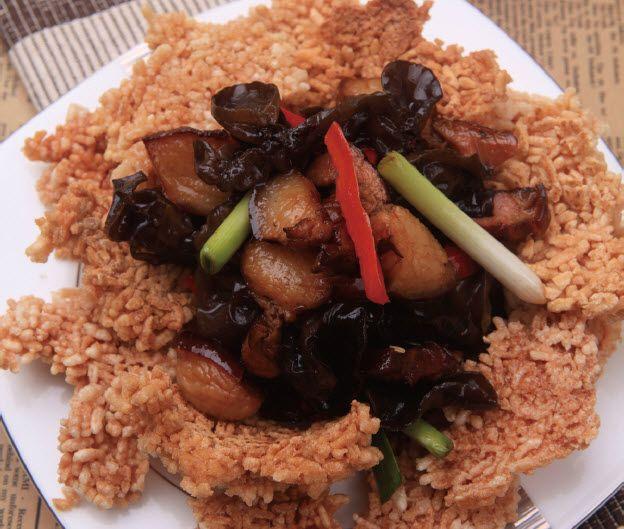 锅巴腊肉怎么做?锅巴腊肉的家常做法