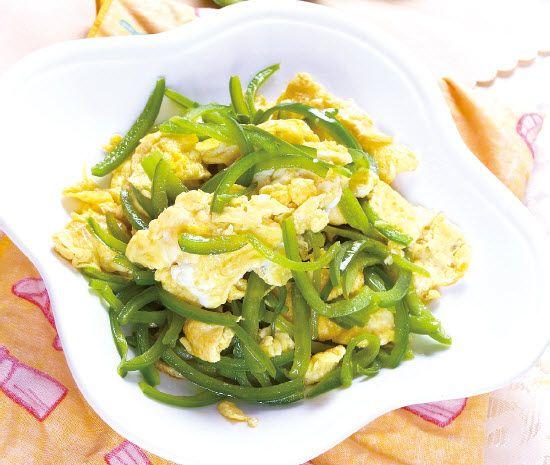 青椒炒蛋怎么做?青椒炒蛋的家常做法