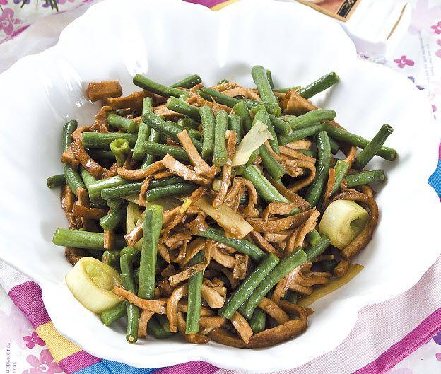豆腐干炒豇豆怎么做?豆腐干炒豇豆的家常做法